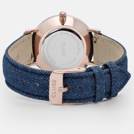 Cluse watch blue