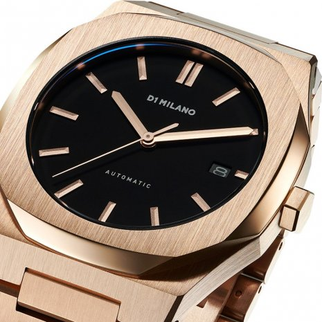 D1 Milano watch Rose Gold