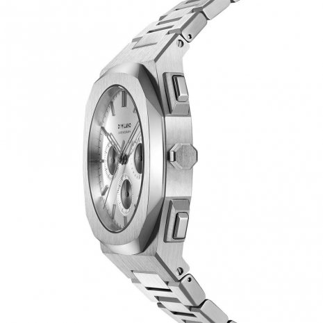 D1 Milano watch silver