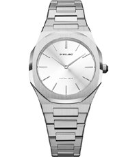 D1-UTBL08 Ultra Thin - Silver Cloud 34mm