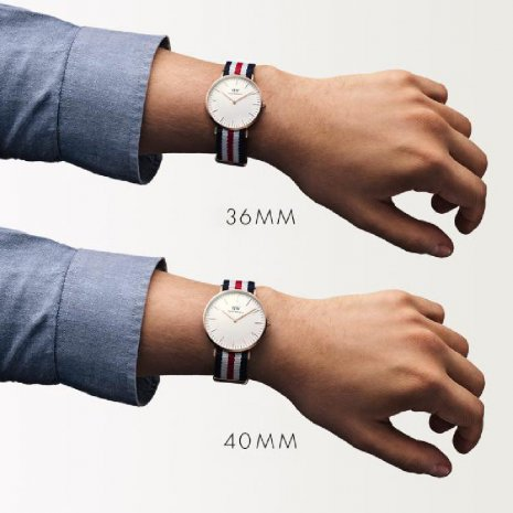 Rose Gold Quartz Watch with Textile Strap Spring Summer Collection Daniel Wellington