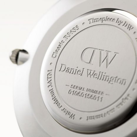 Daniel Wellington watch silver
