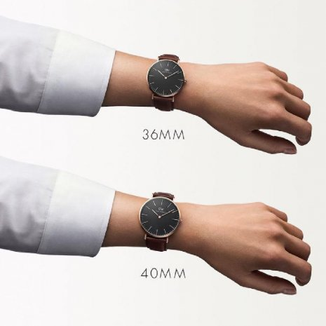 Classic Slim design two hand quartz watch Fall Winter Collection Daniel Wellington