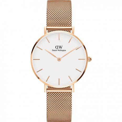 Daniel Wellington Petite Melrose White watch