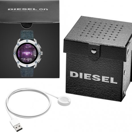 Big Steel men's Smartwatch Gen 5 Fall Winter Collection Diesel