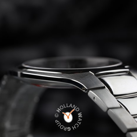 Modern thin mens watch with date Fall Winter Collection Edox