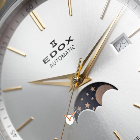 Automatic moonphase watch with date  Edox
