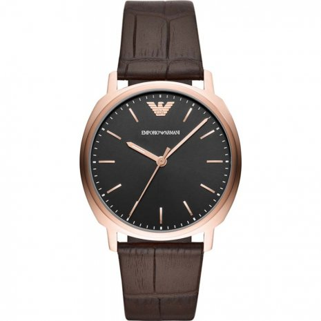 Emporio Armani watch black