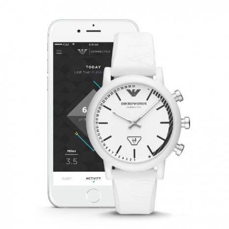 watch White Smart Analog