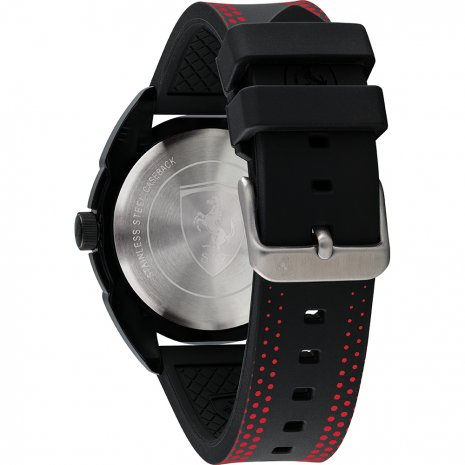 Scuderia Ferrari watch red