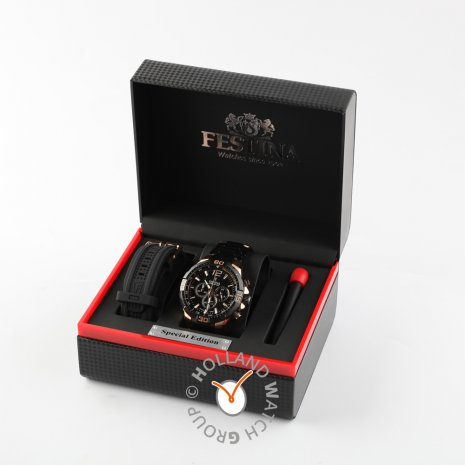 Special edition chronograph with steel case and bracelet Spring Summer Collection Festina