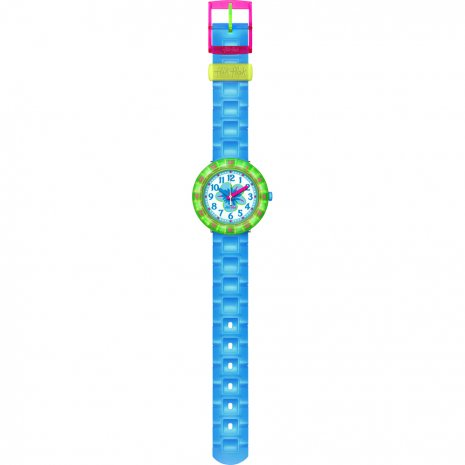 Flik Flak Chewy Blue watch
