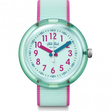 Flik Flak Color Blast Turquoise watch