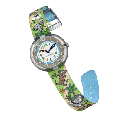 Flik Flak watch Green