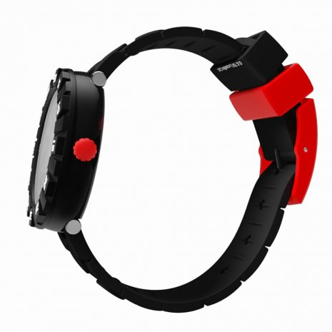 Flik Flak watch black