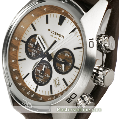 montre argent Quartz Chronograph