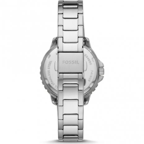 Fossil watch silver