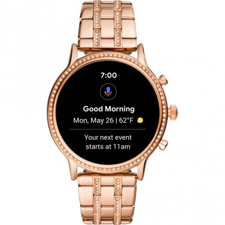 Rose gold toned Gen 5 smartwatch Spring Summer Collection Fossil