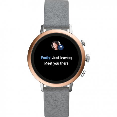 Touchscreen Smartwatch with Silicone Strap - Gen4 Fall Winter Collection Fossil