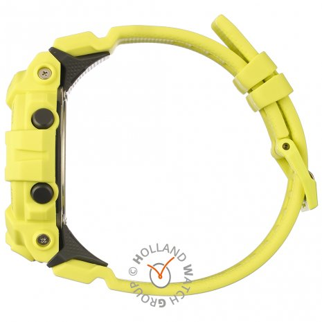 G-Shock watch yellow