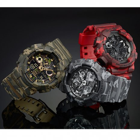 Camouflage ana-digi G-Shock watch Fall Winter Collection G-Shock