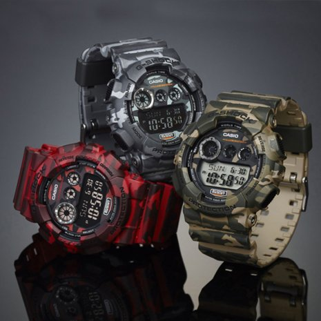 Army Green Digital G-Shock Watch Spring Summer Collection G-Shock