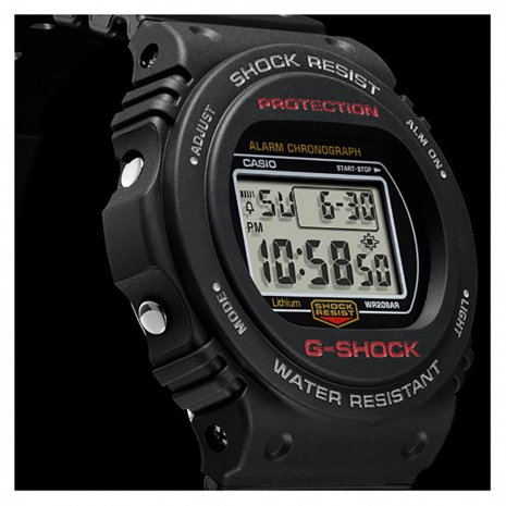 Black Digital G-Shock Watch Spring Summer Collection G-Shock