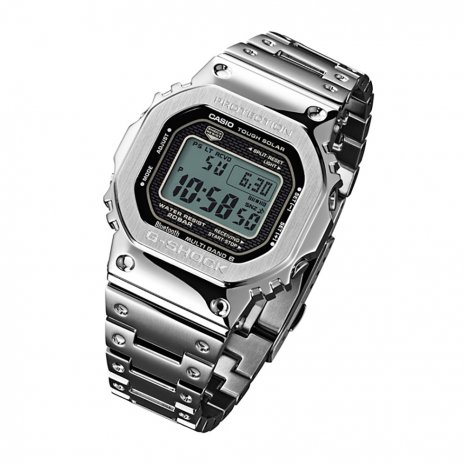 All Steel Digital Watch with Smartphone Link Spring Summer Collection G-Shock