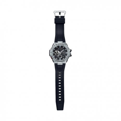 Black & Silver Gents Smartphone Link Functions Watch Fall Winter Collection G-Shock