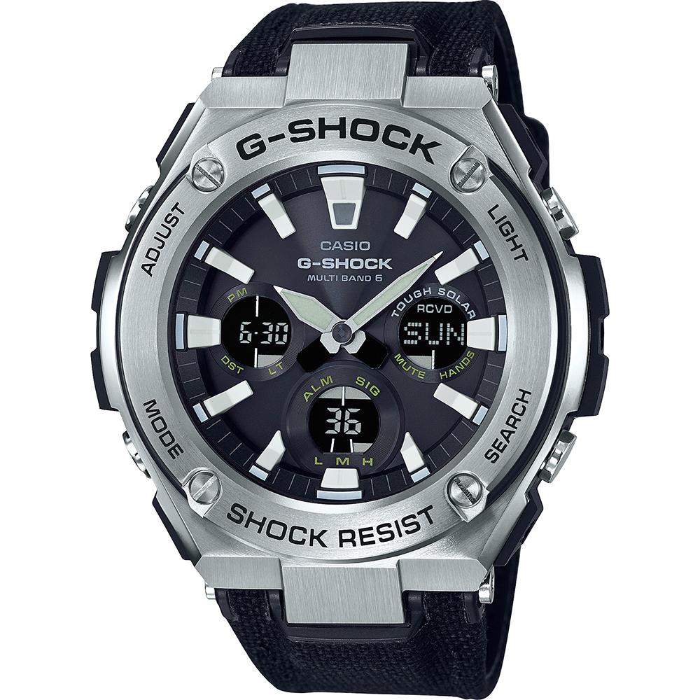 G Shock Gst W130c 1aer Watch G Steel Tough Leather