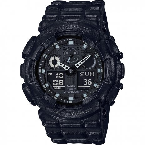 G-Shock Black Out Texture watch