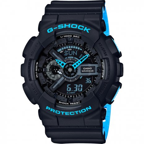 G-Shock Layered Neon watch