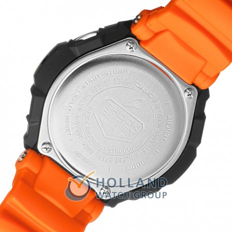G-Shock watch orange