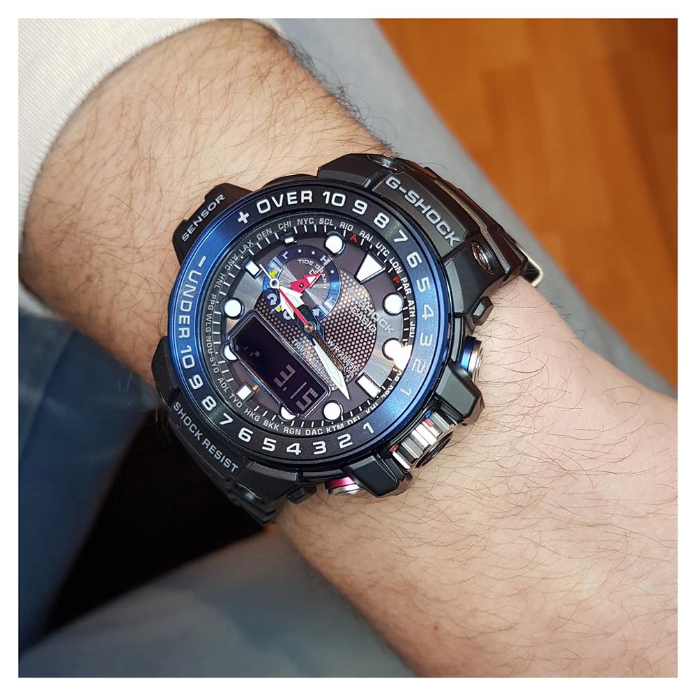 G-Shock GWN-1000B-1BER watch - Gulfmaster b8365c73c