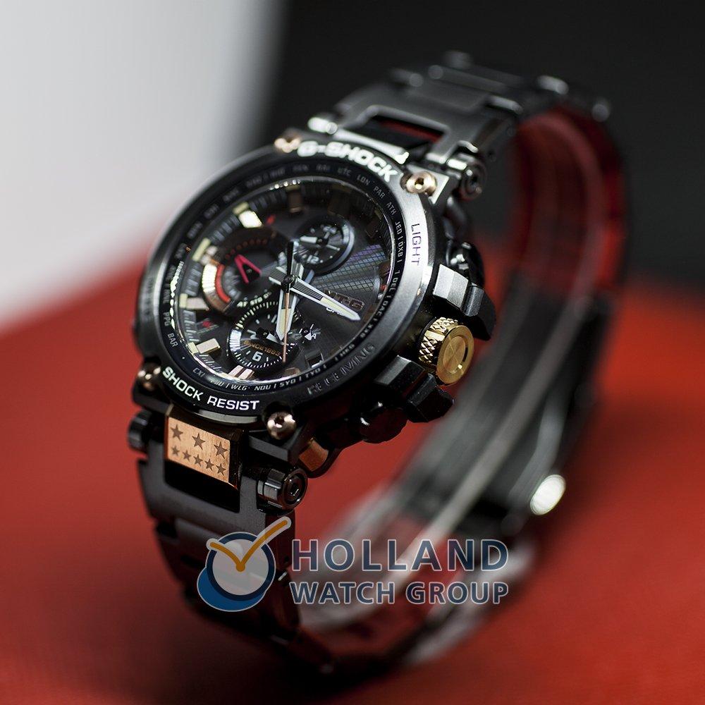 06ff8fedf G-Shock MTG-B1000TF-1A watch - Metal Twisted G 35th Anniversary