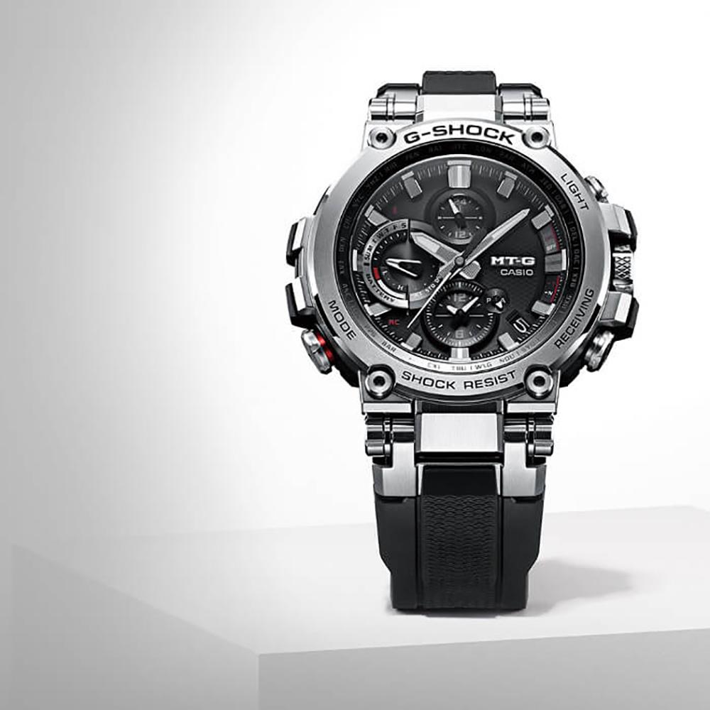 5a51ebb57 G-Shock MTG-B1000-1AER watch - Metal Twisted G