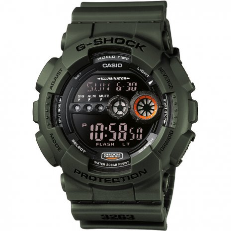 G-Shock World Time - Military Stealth watch