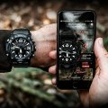 Quad sensor outdoor watch with smartphone link Fall Winter Collection G-Shock