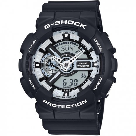 G-Shock Team Zebra watch