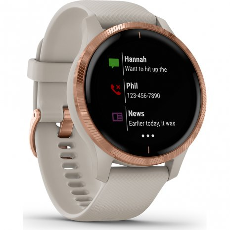 GPS Smartwatch with AMOLED screen Spring Summer Collection Garmin