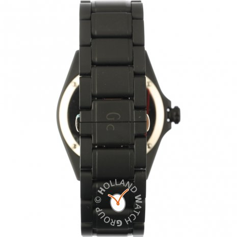 Ceramic black gents watch with date Spring Summer Collection GC