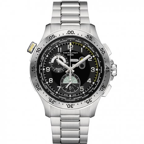 Hamilton Worldtimer watch
