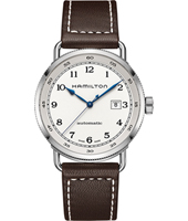 H77715553 Khaki Navy - Pioneer 43mm