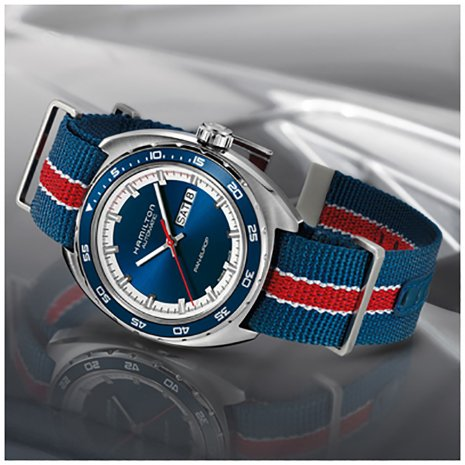Hamilton watch blue