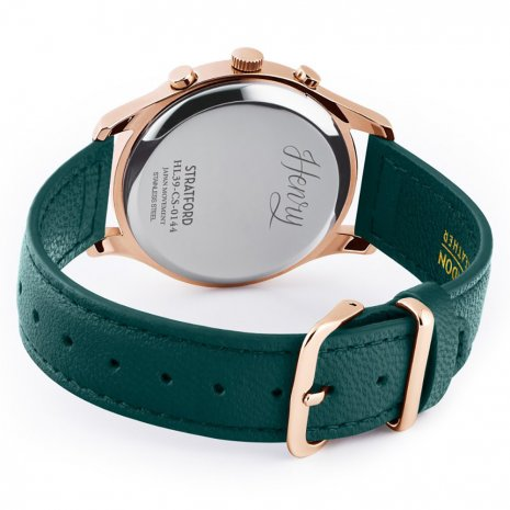 Henry London watch Rose Gold