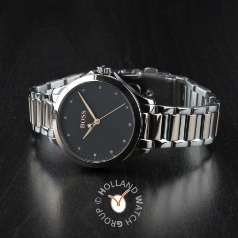 Two-tone ladies quartz watch Spring Summer Collection Hugo Boss