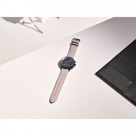 Black & Beige Chronograph Watch with Date Spring Summer Collection Hugo Boss