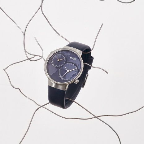 Dual time design watch Fall Winter Collection Hugo BOSS