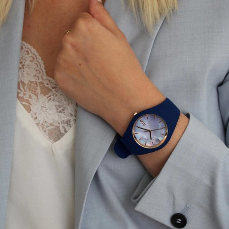 Mother of Pearl Ladies Watch Fall Winter Collection Ice-Watch