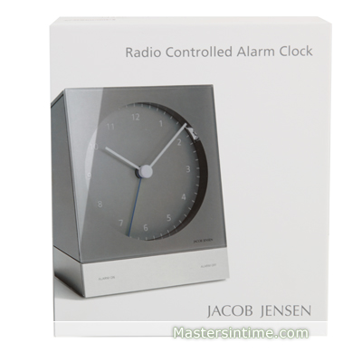 Clock grey Quartz